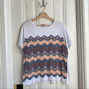 Missoni 2017 Key to the Cure Short Sleeve T Shirt